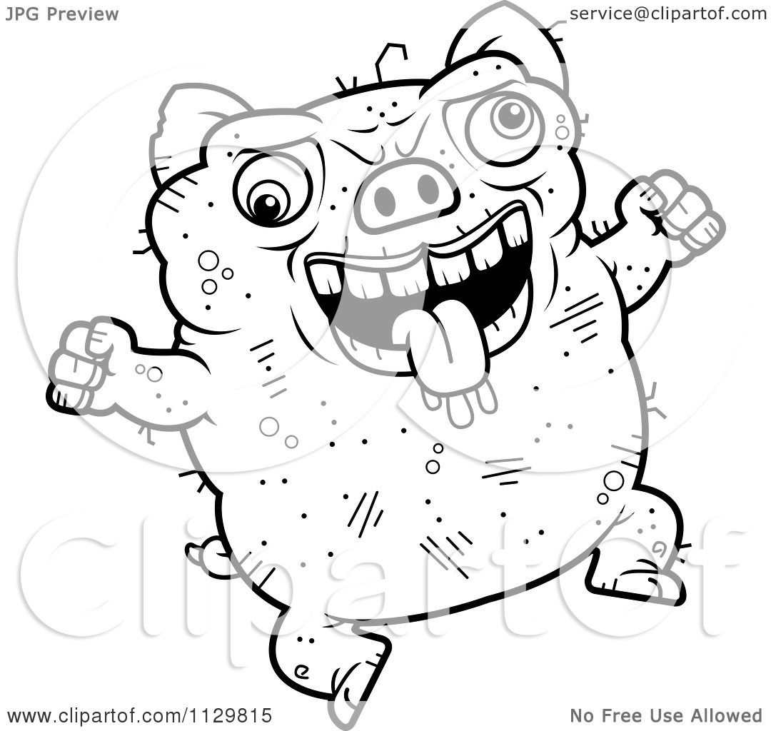 pig digestive system coloring pages