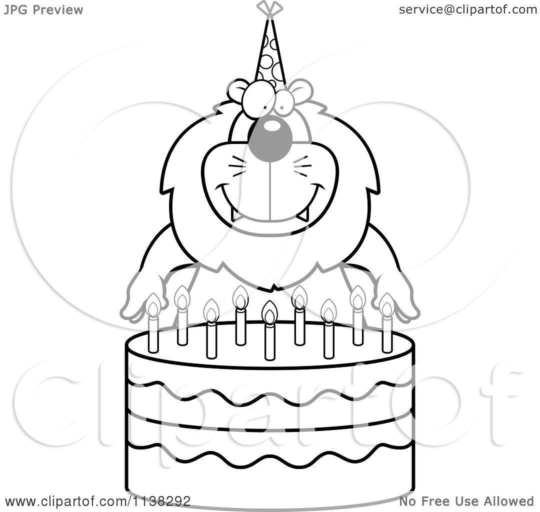 Clipart Of Birthday Cake