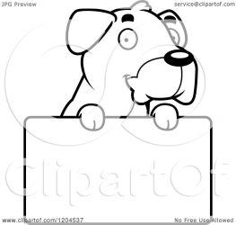 dog boxer cartoon cute puppy clipart clip royalty vector thoman cory illustration clipartpanda cliparts regarding notes clipartof
