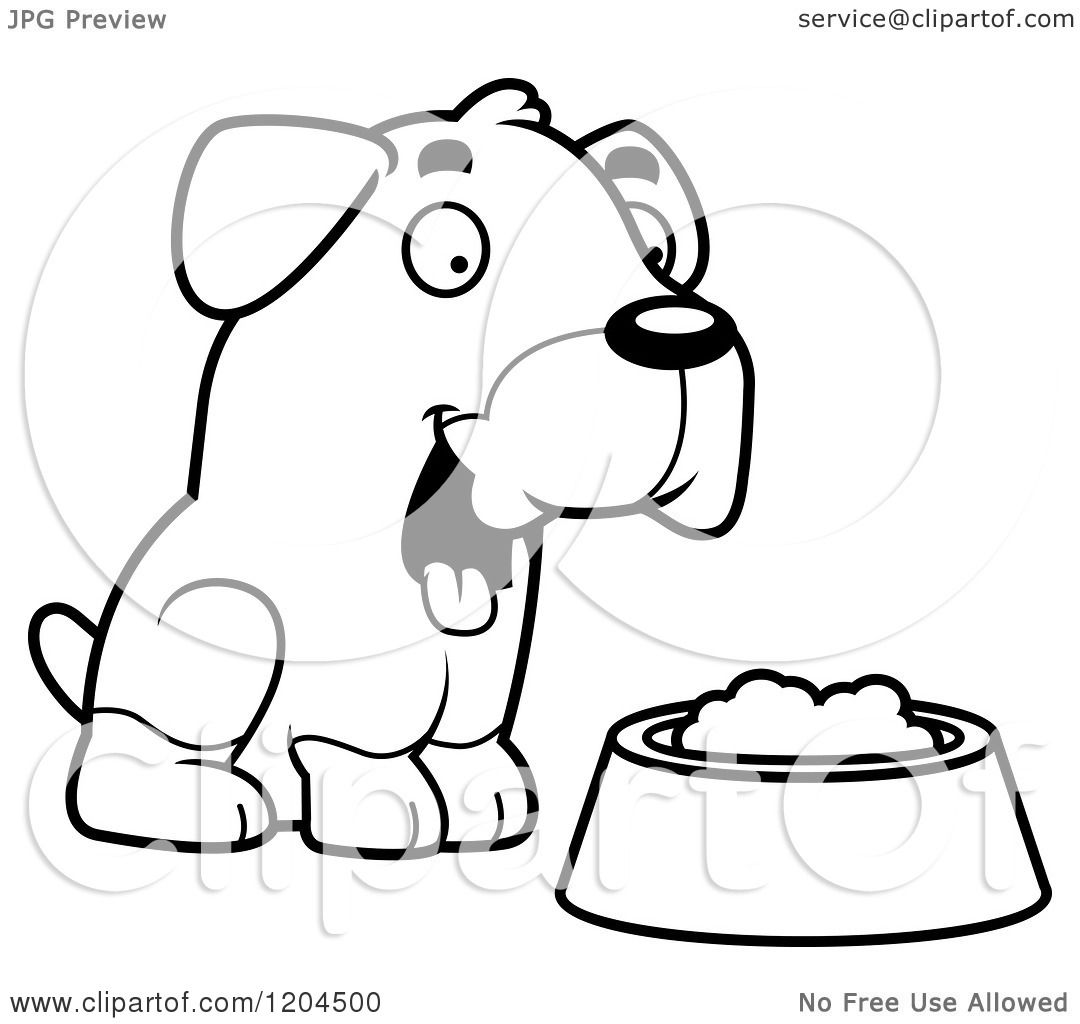 Rottweiler Puppy Coloring Pages