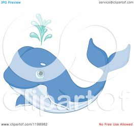 whale cute spouting cartoon clipart royalty vector pushkin illustration collc0093 protected copyright law