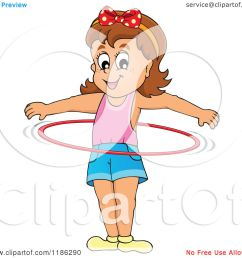 cartoon of a happy girl playing with a hula hoop royalty free vector clipart by [ 1080 x 1024 Pixel ]