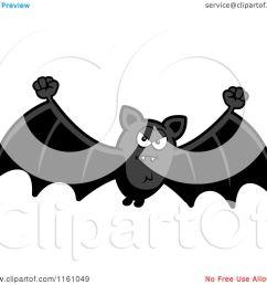 cartoon of a mad vampire bat royalty free vector clipart by cory thoman [ 1080 x 1024 Pixel ]