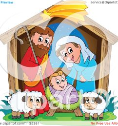 cartoon of a nativity scene royalty free vector clipart by visekart [ 1080 x 1024 Pixel ]