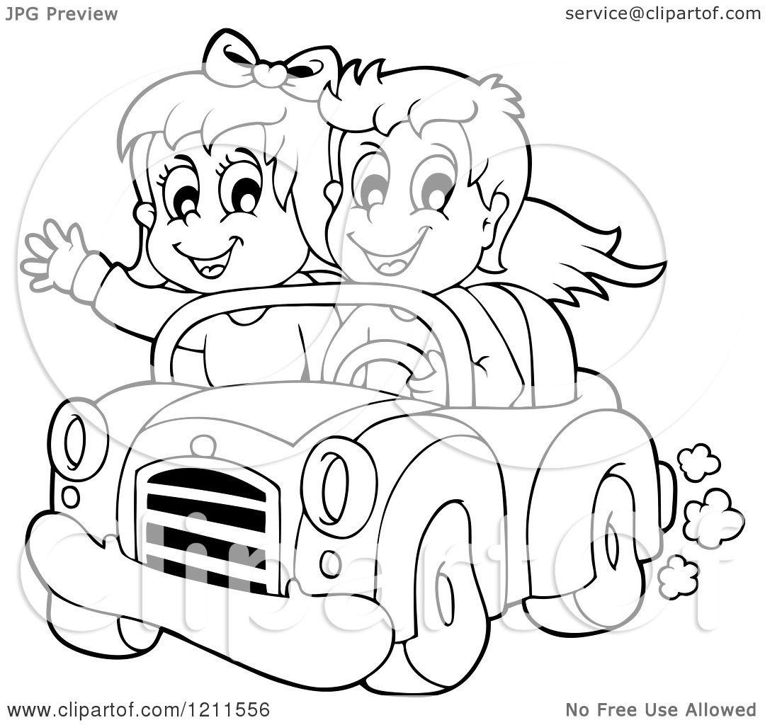 car driving funny