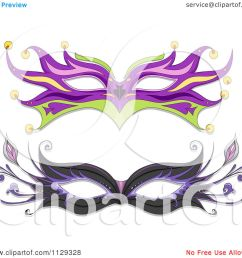 cartoon of masquerade ball masks royalty free vector clipart by bnp design studio [ 1080 x 1024 Pixel ]
