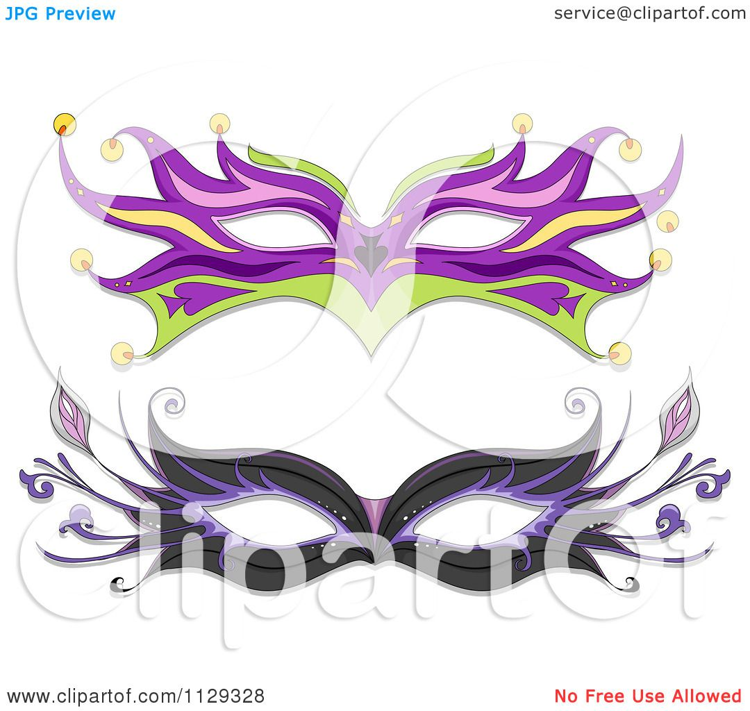 hight resolution of cartoon of masquerade ball masks royalty free vector clipart by bnp design studio