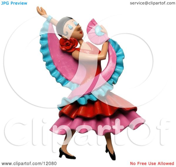 Flamenco Dancer Clip Art