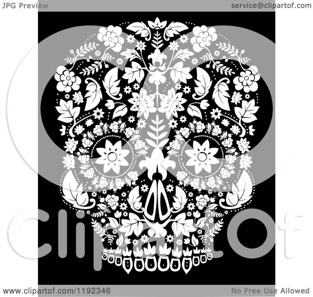 medium resolution of clip art of the day of the dead poster royalty free vector illustration by lineartestpilot