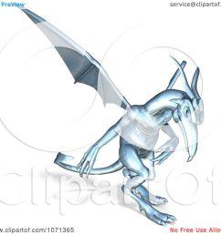 clipart 3d fantasy chrome gargoyle 3 royalty free cgi illustration by ralf61 [ 1080 x 1024 Pixel ]
