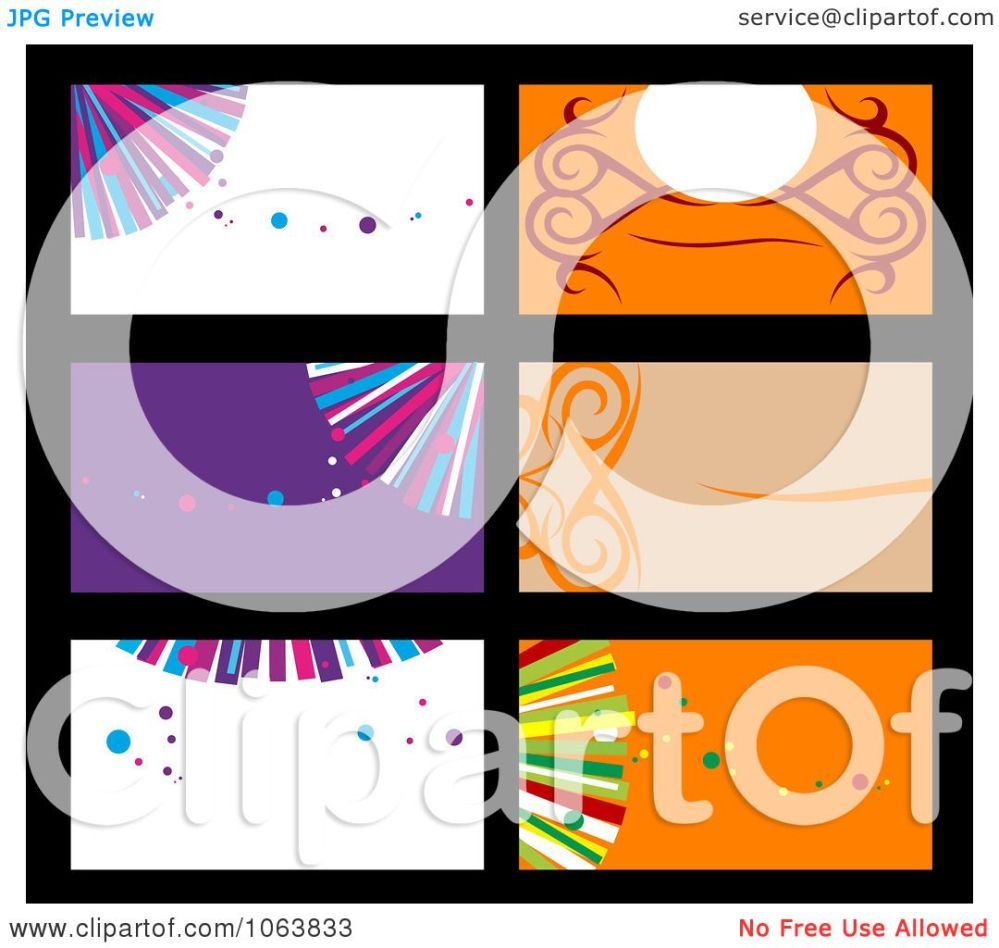 medium resolution of clipart abstract business card backgrounds digital collage 2 royalty free vector illustration by vector tradition