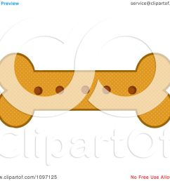 clipart baked dog bone biscuit royalty free vector illustration by hit toon [ 1080 x 1024 Pixel ]