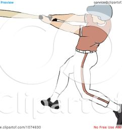 clipart baseball batter caucasian man royalty free vector illustration by pams clipart [ 1080 x 1024 Pixel ]