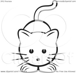 cat cute clipart illustration vector royalty perera lal copyright collc0106 background