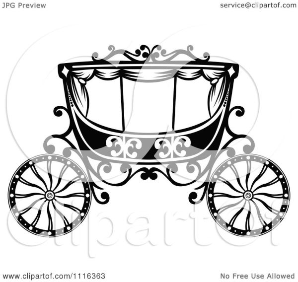 clipart black and white fairy tale