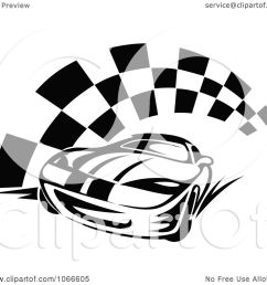 clipart black and white race car and checkered flag 2 royalty free vector illustration by vector tradition sm [ 1080 x 1024 Pixel ]
