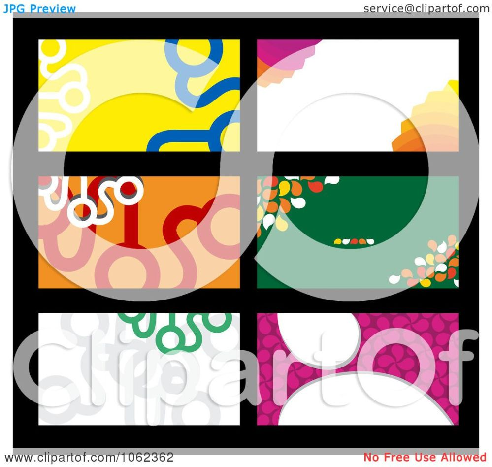 medium resolution of clipart business card layouts digital collage 1 royalty free vector illustration by vector tradition sm