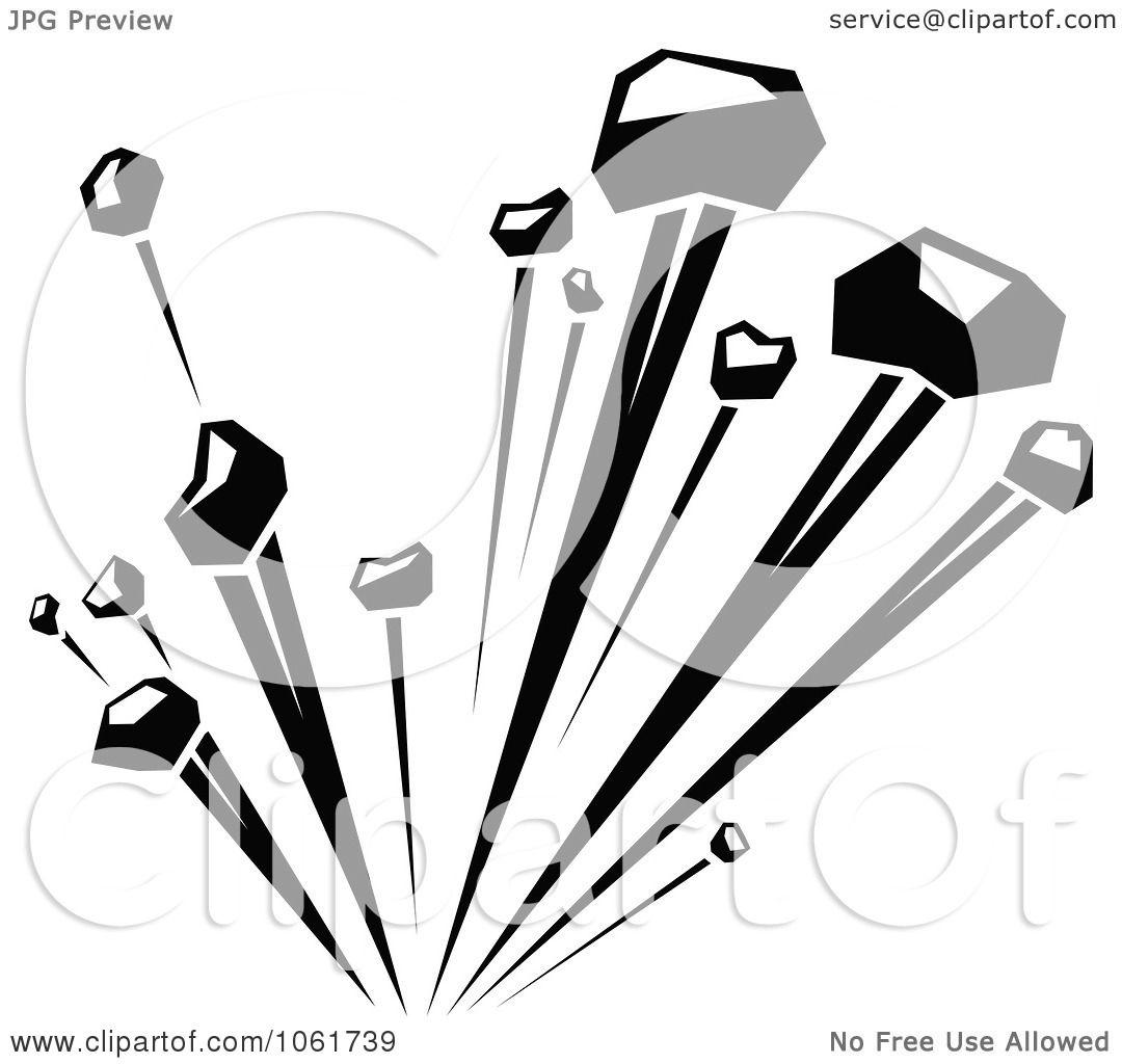 Clipart Comic Explosion Design Element 2