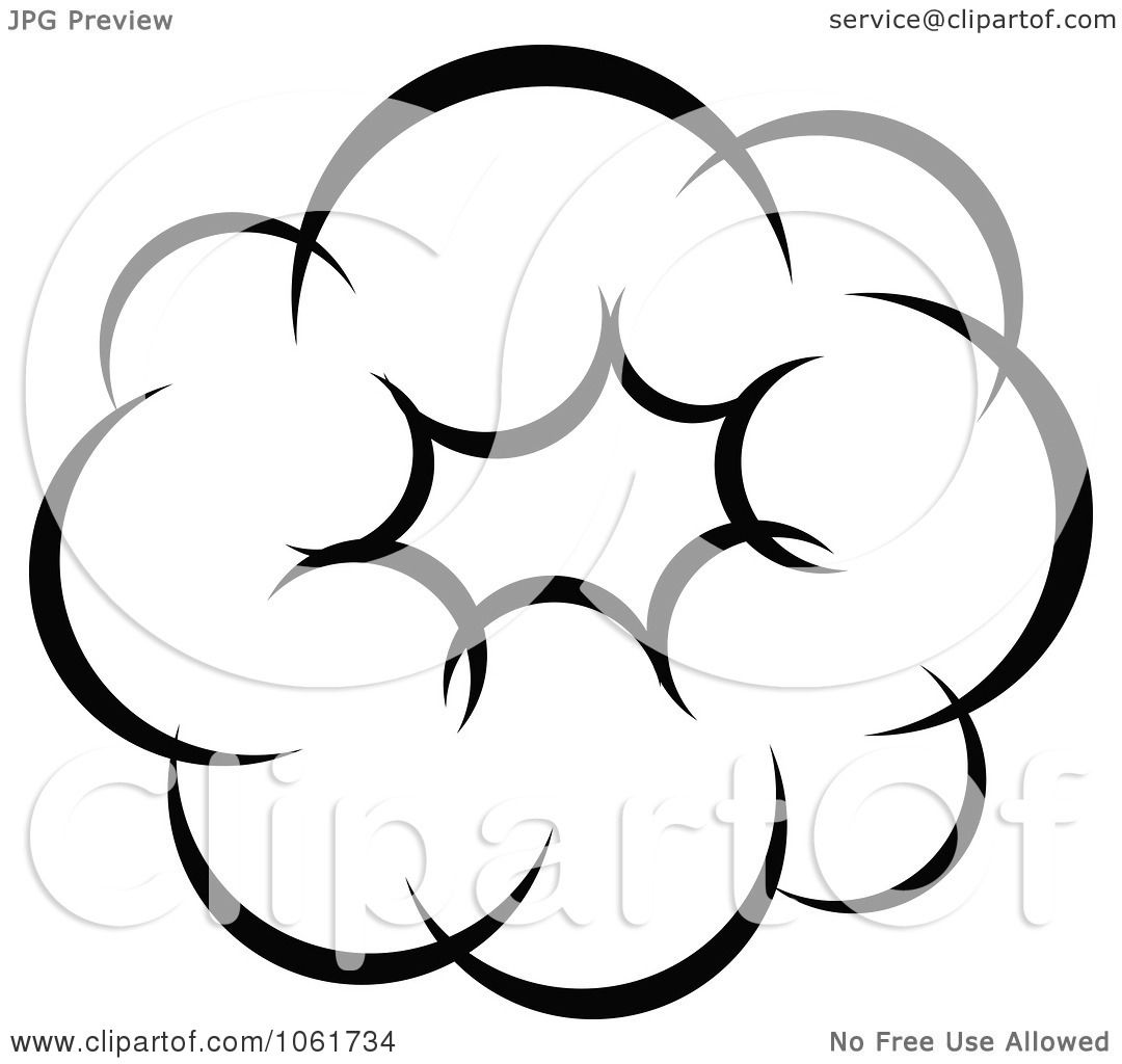 Clipart Comic Explosion Design Element 6