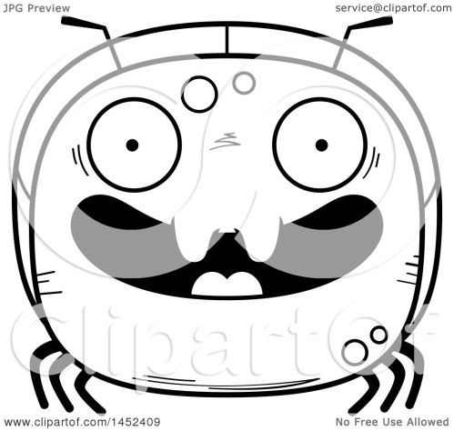 small resolution of clipart graphic of a cartoon black and white lineart happy ant character mascot royalty free