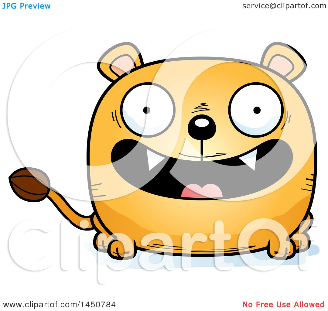 hight resolution of clipart graphic of a cartoon smiling lioness character mascot royalty free vector illustration by cory
