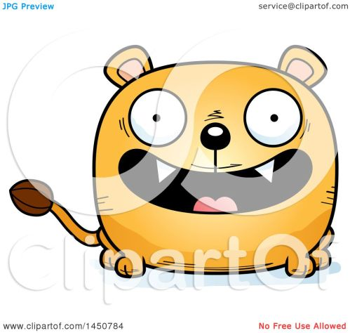 small resolution of clipart graphic of a cartoon smiling lioness character mascot royalty free vector illustration by cory