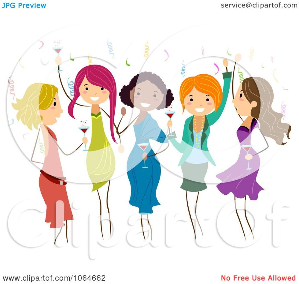 medium resolution of clipart group of ladies dancing at a party royalty free dance team clip art dancer silhouette