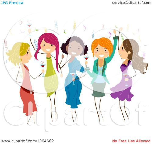 small resolution of clipart group of ladies dancing at a party royalty free dance team clip art dancer silhouette