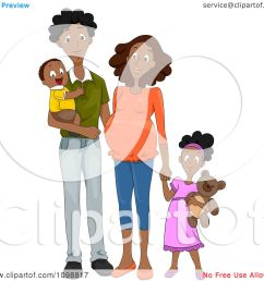 clipart happy black family with a pregnant mommy holding hands royalty free vector illustration by [ 1080 x 1024 Pixel ]