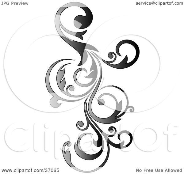 clipart illustration of gradient