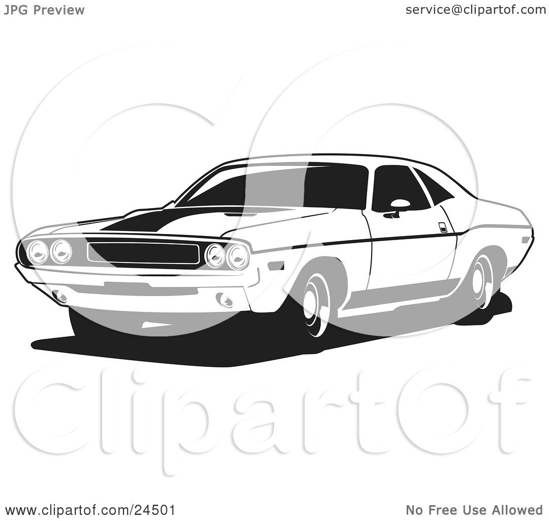 Clipart Muscle Car Free