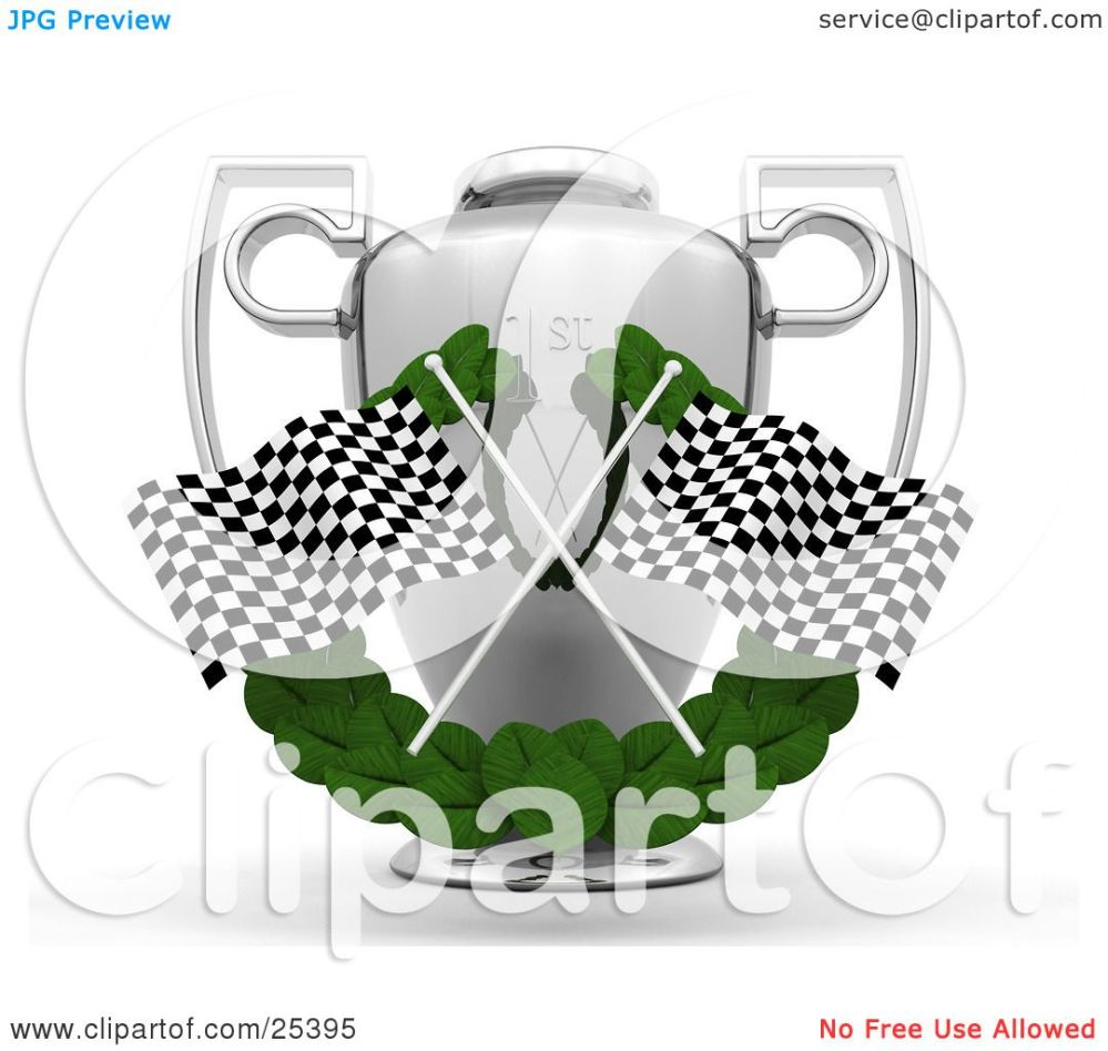 medium resolution of  clipart illustration of two checkered racing flags crossed over a