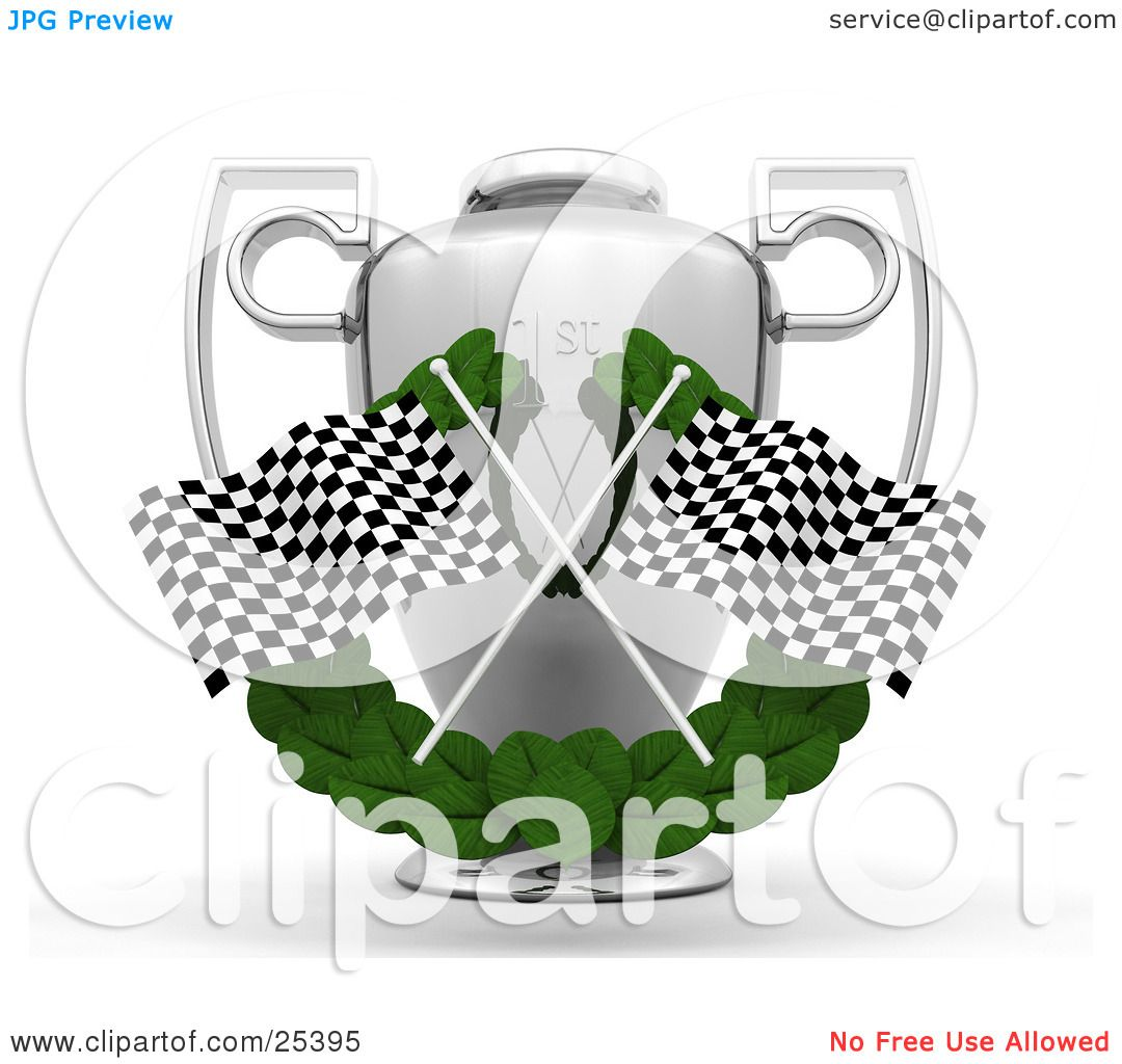 hight resolution of  clipart illustration of two checkered racing flags crossed over a