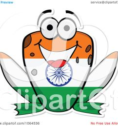 clipart indian flag frog royalty free vector illustration by andrei marincas [ 1080 x 1024 Pixel ]