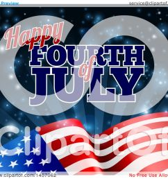 clipart of a 3d american flag and fourth of july text over rays and flares  [ 1080 x 1024 Pixel ]