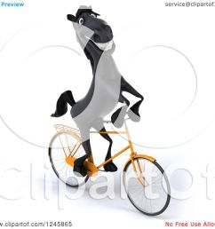 clipart of a 3d black horse riding a bicycle 3 royalty free illustration by julos [ 1080 x 1024 Pixel ]