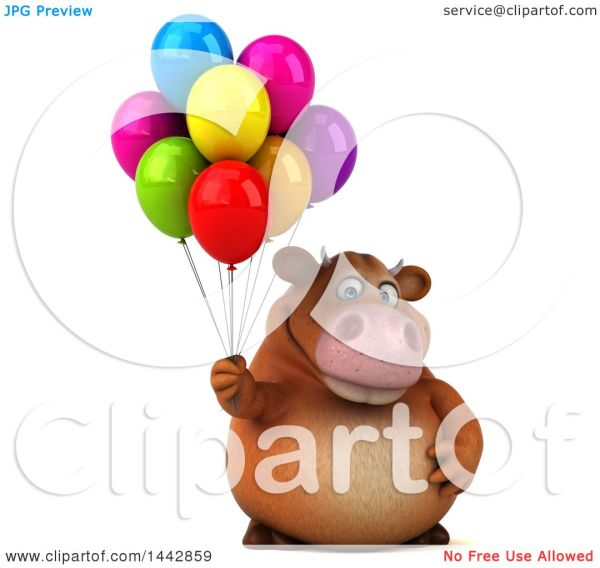 clipart of 3d brown character