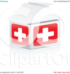 clipart of a 3d first aid hospital house royalty free cgi illustration by andrei marincas [ 1080 x 1024 Pixel ]