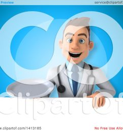 clipart of a 3d young white male doctor royalty free illustration by julos [ 1080 x 1024 Pixel ]