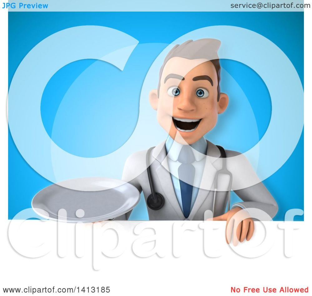 medium resolution of clipart of a 3d young white male doctor royalty free illustration by julos