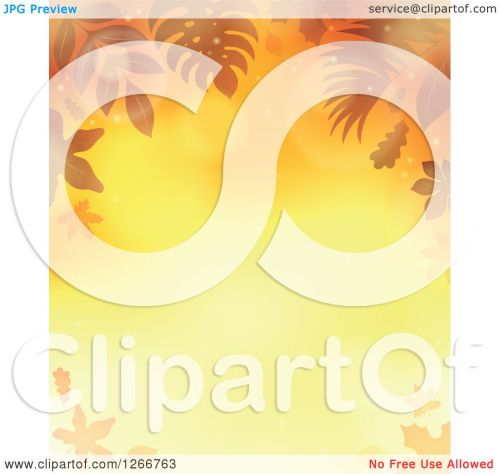 small resolution of clipart of a background of orange flares and autumn fall leaves around text space royalty