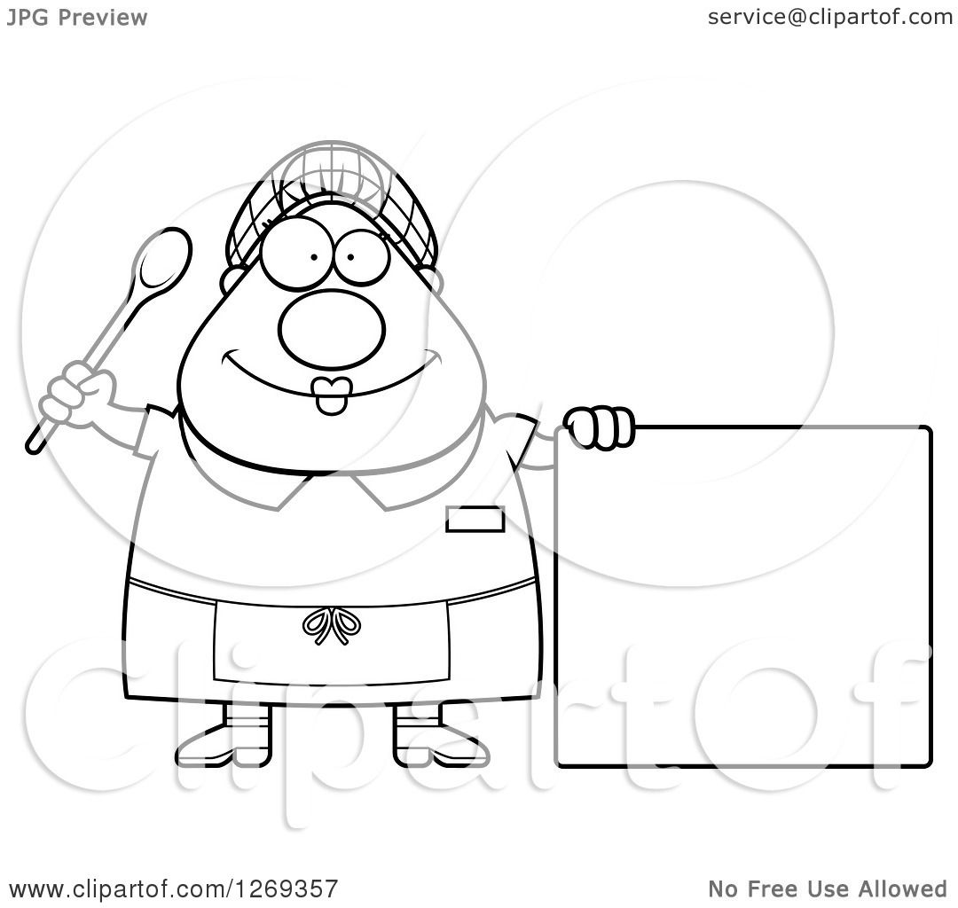Lunch Lady Coloring Coloring Pages