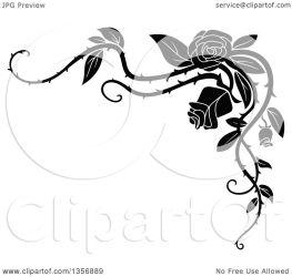vine border rose corner floral clipart vector illustration element background royalty transparent tradition sm clip seamartini graphics resolution regarding notes