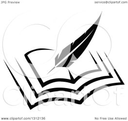 pen clipart writing feather quill open vector sm tradition notes clipartmag resolution