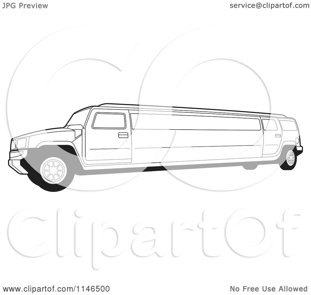 Limousine Coloring Pages