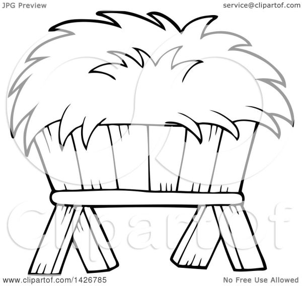 clipart of black and white lineart