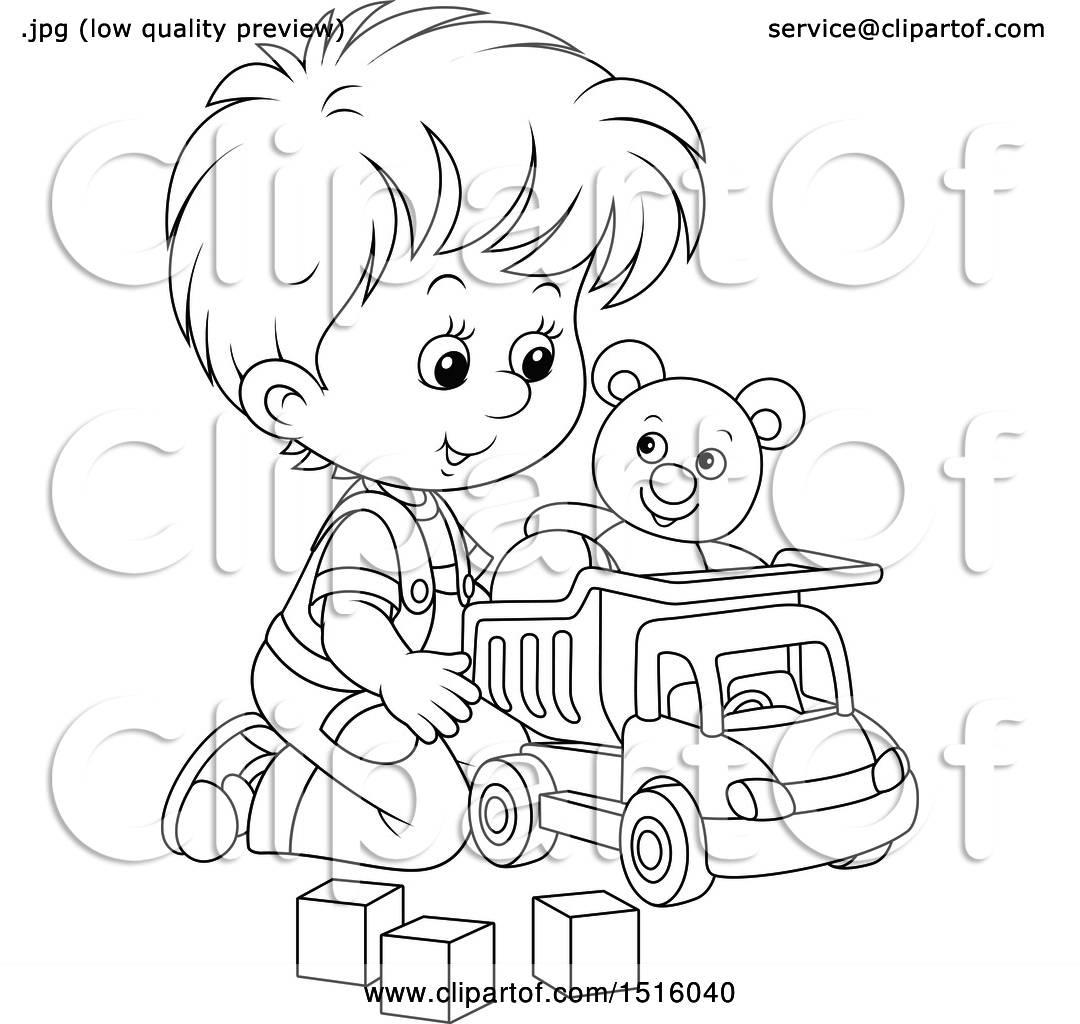 Toy Trucks A Baby