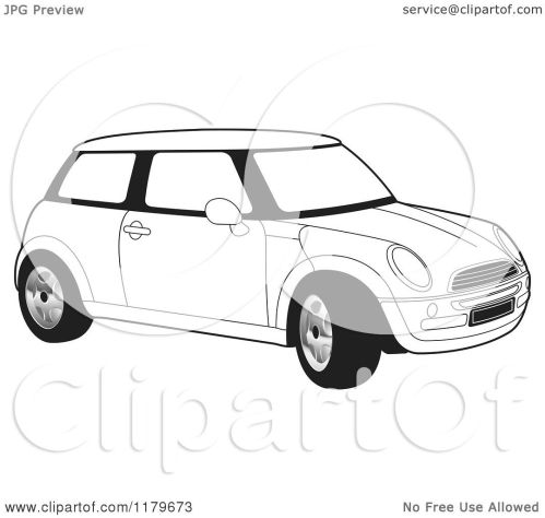 small resolution of mini cooper outline drawing