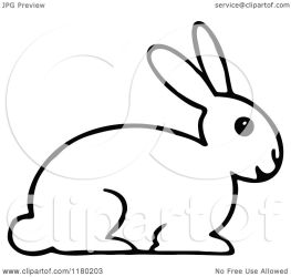 rabbit clipart clip illustration bunny vector royalty prawny clipartpanda quick collc0178 protected batman clipartof