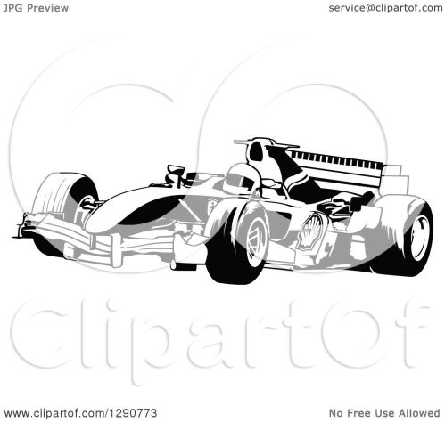 small resolution of clipart of a black and white race car and driver facing left 2 royalty free